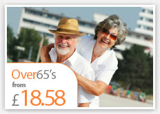 Over 65's Travel Insurance